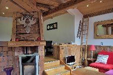 Appartement à Arâches-la-Frasse - Les Carroz centre, location d'un appartement décoré avec gôut. Pour 6 personnes.