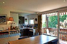 Appartement à Les Carroz d'Arâches -  Carroz d'Arâches centre, location appartement de vacances pour 8 personnes