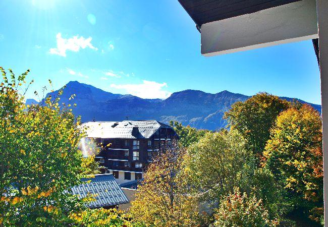 Appartement à Les Carroz d'Arâches - Location appartement de vacances 1 chambre 6 personnes aux Carroz d'Arâches, Grand Massif, proche navette et centre