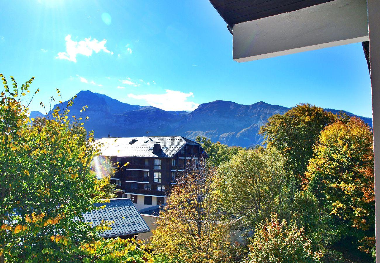 Appartement à Les Carroz d'Arâches - Location appartement de vacances 1 chambre 6 personnes aux Carroz d'Arâches, Grand Massif, proche navette et centre - MAZ436
