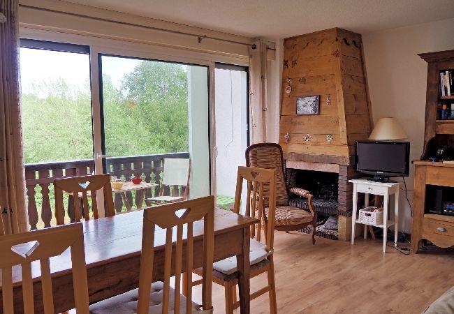 Appartement à Les Carroz d'Arâches - Location d'un appartement de vacances duplex pour 6 personnes aux Carroz d'Arâches, Domaine skiable du Grand Massif