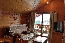 Appartement à Les Carroz d'Arâches - Aux Carroz, location d'un appartement pour 7 personnes