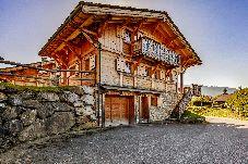 Chalet à Les Carroz d'Arâches - Chalet individuel pour 12 personnes, à 800 m de la télécabine