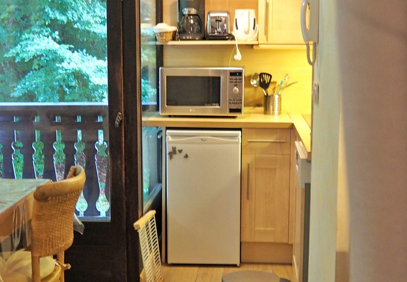Appartement à Les Carroz d'Arâches - Appartement de vacances 2 chambres pour 6 personnes aux Carroz d'Arâches, Haute-Savoie, proche centre et navette - MAZ410
