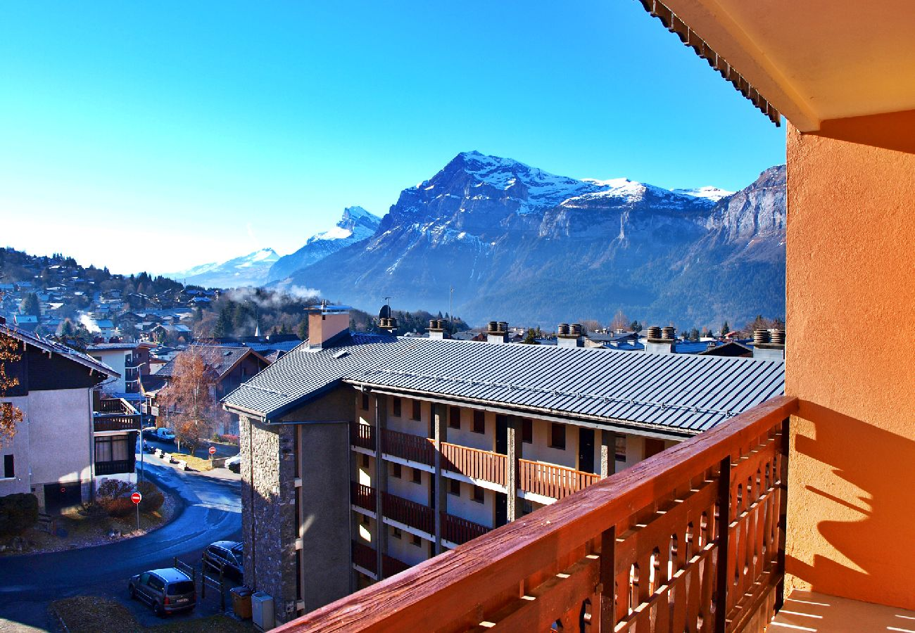 Appartement à Les Carroz d'Arâches - Location appartement de vacances 1 chambre 6 personnes aux Carroz d'Arâches, Grand Massif, centre village et proche navette