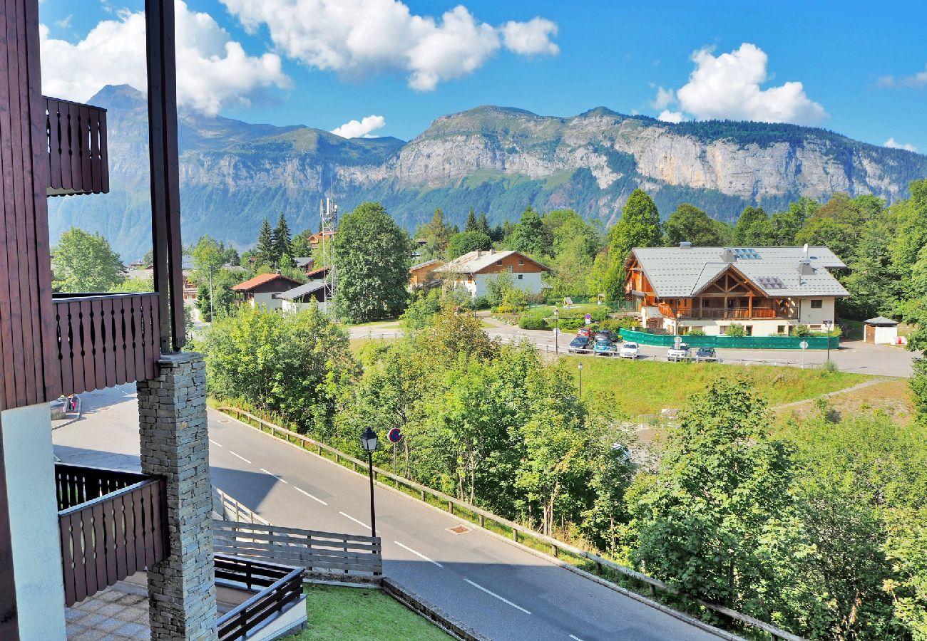 Appartement à Les Carroz d'Arâches - Carroz d'Arâches proche centre, appartement 4 /5 personnes - SAB578