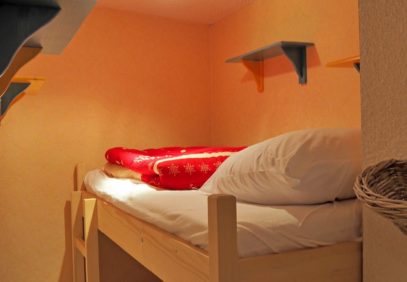 Appartement à Les Carroz d'Arâches - Carroz d'Arâches, centre, location appartement de vacances pour 5 personnes