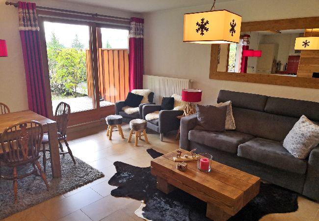 Appartement à Les Carroz d'Arâches - Carroz d'Arâches, à 1,3 km du centre, location, appartement de vacances pour 6 personnes