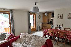 Appartement à Les Carroz d'Arâches - Caroz d'Arâches,  à 1,3 km du centre, location appartement pour 7 personnes