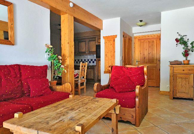 Appartement à Les Carroz d'Arâches - Les Carroz d'Arâches, location d'un appartement de vacances pour 6 personnes